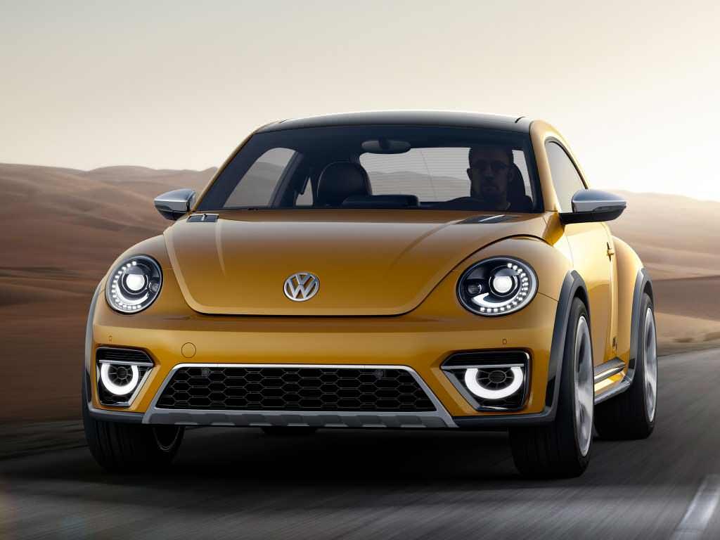 Фото | Концепт Volkswagen Beetle Dune 2014 года