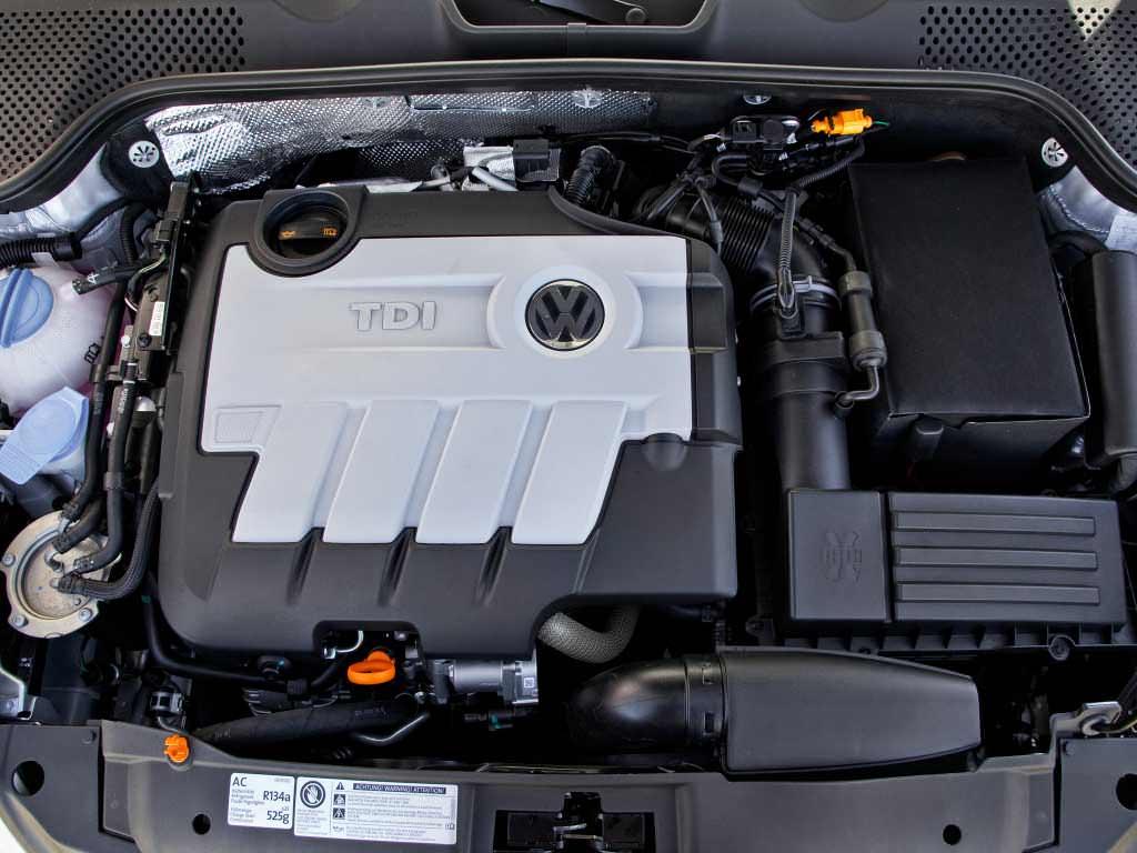 Дизельный двигатель TDI под капотом американского Фольксваген Жук