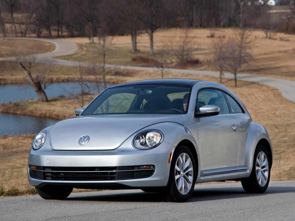 Американский Volkswagen Beetle TDi 2013 — 2015 годов