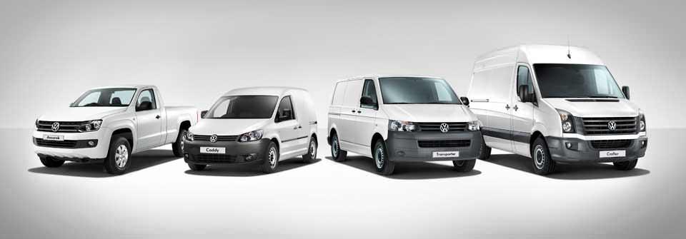 Все Volkswagen Commercial Vehicles