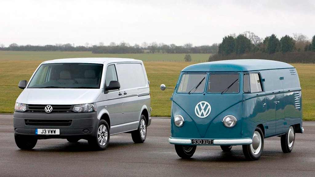 Volkswagen T1 и T5