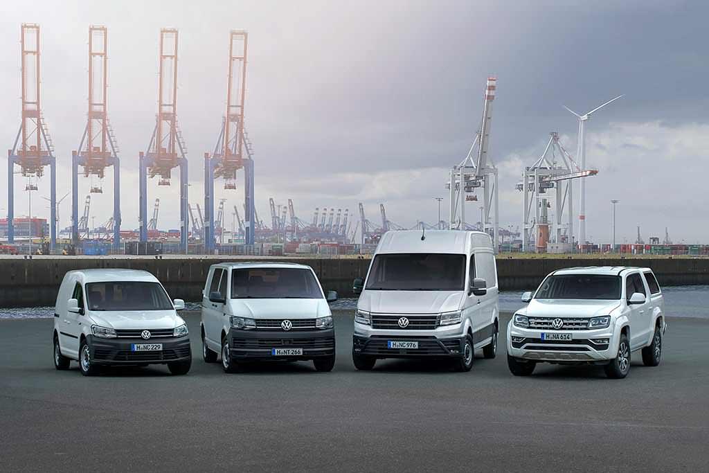 Модели Volkswagen Commercial Vehicles