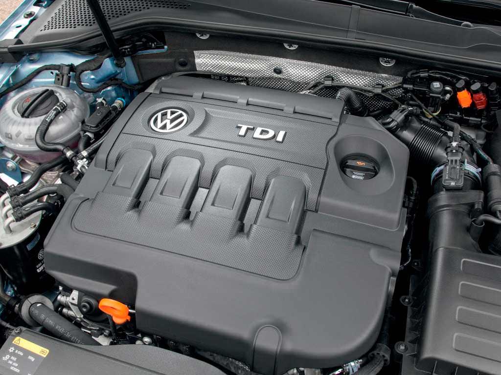 Самый экономичный дизельный двигатель Volkswagen Golf TDI BlueMotion