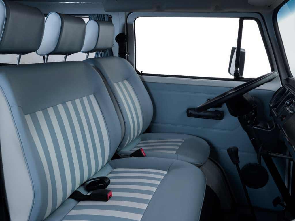 Интерьер Volkswagen T2