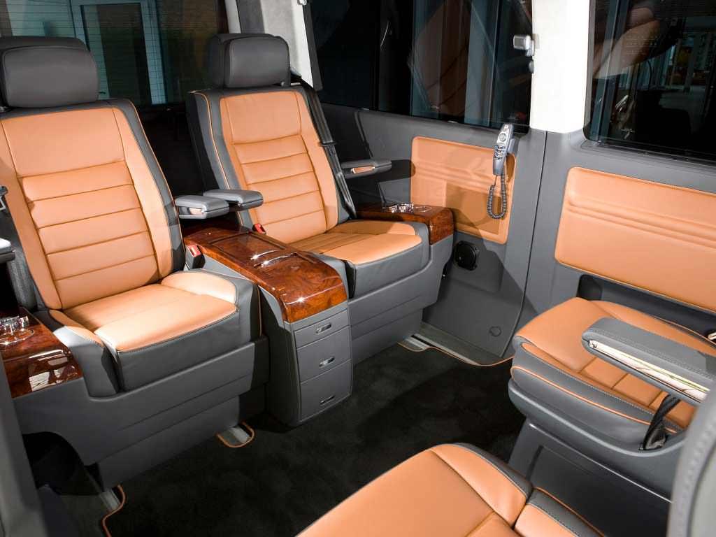 Пассажирский салон Volkswagen Multivan Business T5