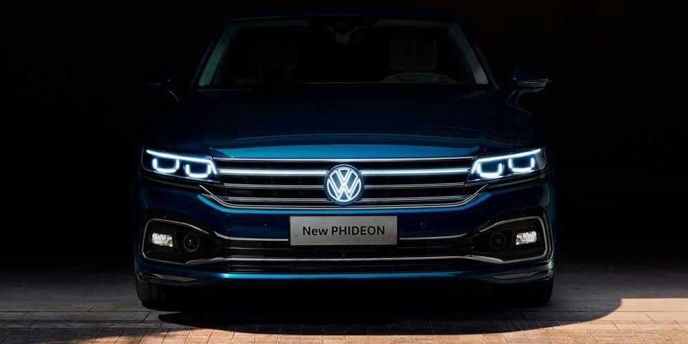 Volkswagen Phideon обновился на 2021 год. Все детали, фото