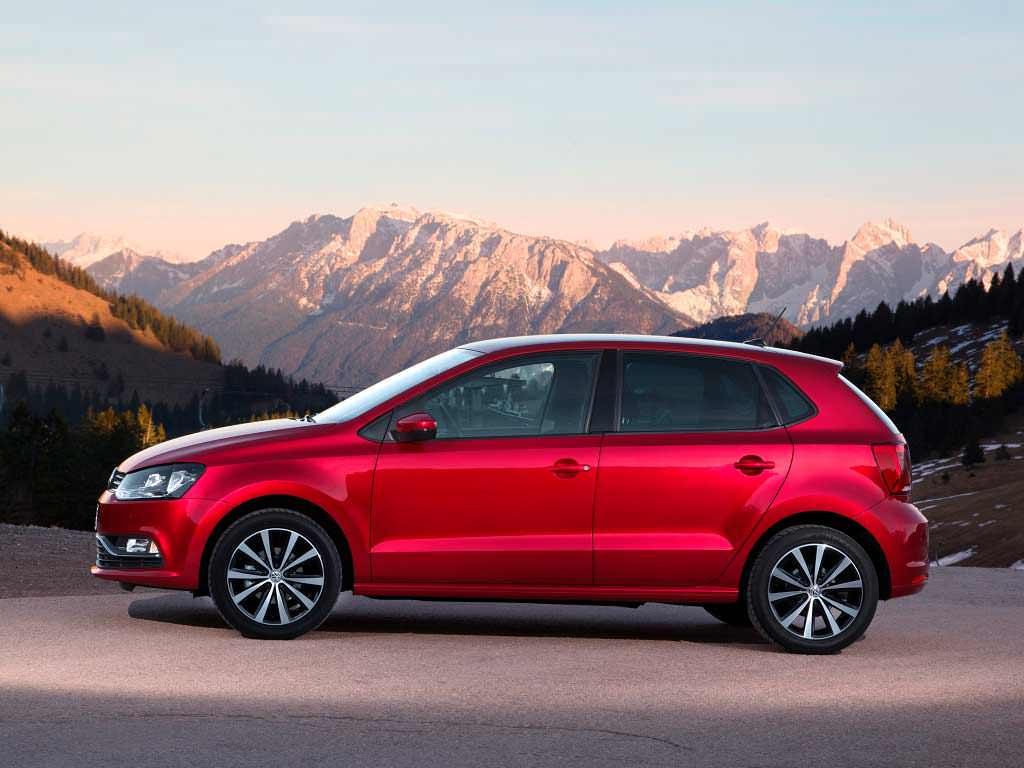 Рестайлинг Volkswagen Polo в кузове 6C
