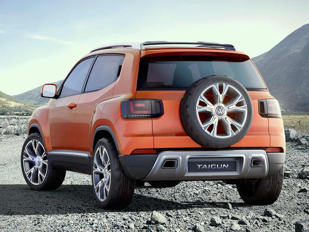 Компактный кроссовер Volkswagen Taigun, концепт