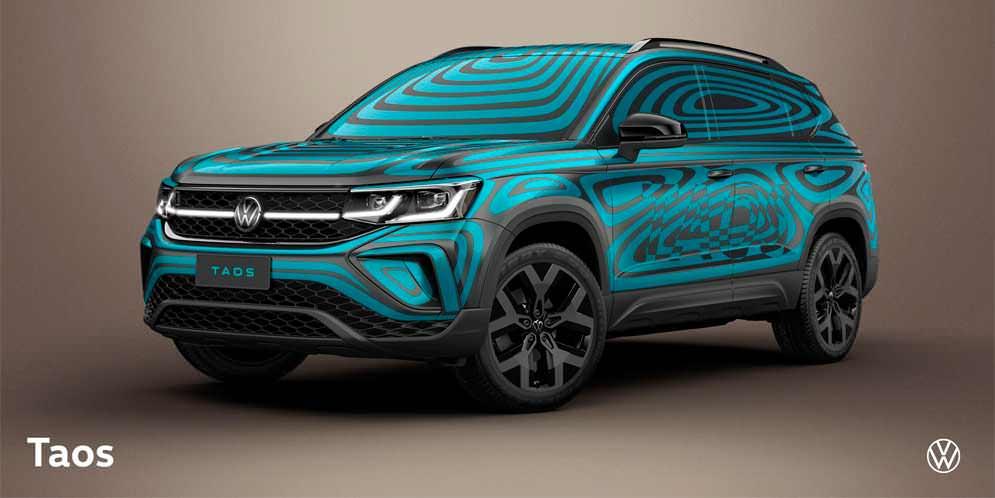 Volkswagen Argentina раскрывает дизайн кроссовера Taos   фото