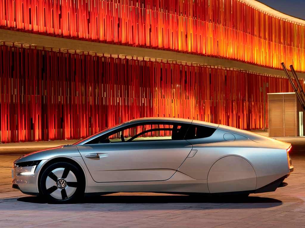 XL1 - самый экономичный Volkswagen в истории