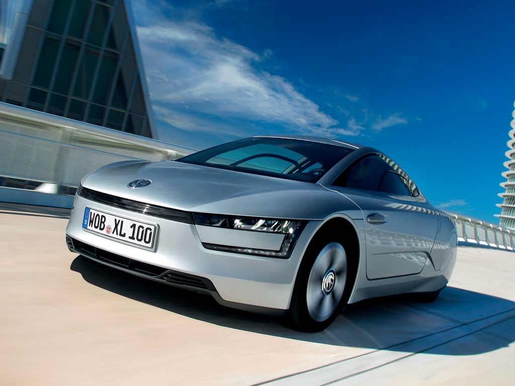 Volkswagen XL1. Расход 0,9-литра на 100 км пробега