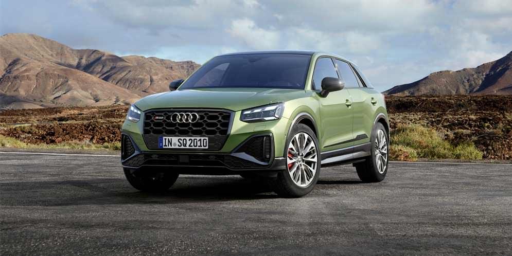 Рестайлинг Audi SQ2 2021 года показан официально | фото, инфо
