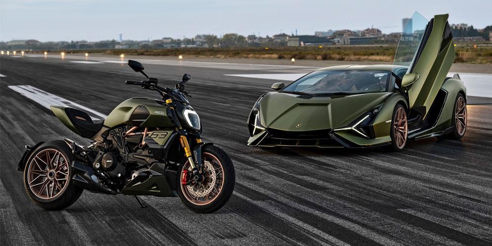 Особый Ducati Diavel 1260 Lamborghini посвятили Sian FKP 37