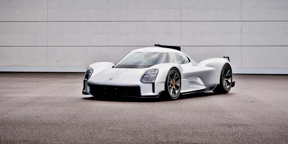 Porsche 919 Street — концепт из болида 919 Hybrid | фото