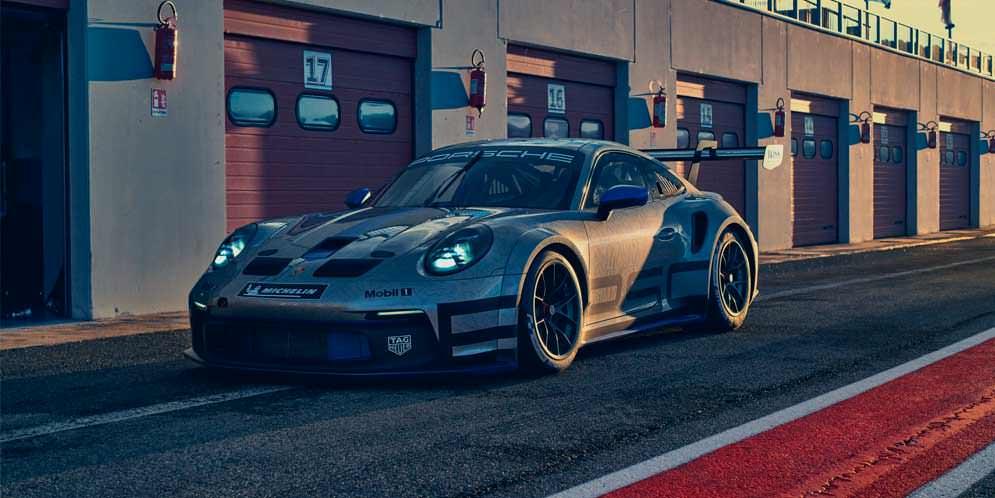 Новый трековый Porsche 911 GT3 Cup показан официально   фото