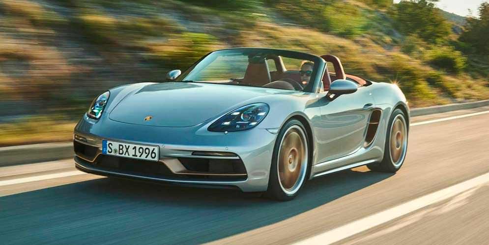 Porsche Boxster отмечает 25-лет спецсерией 2021 года | фото
