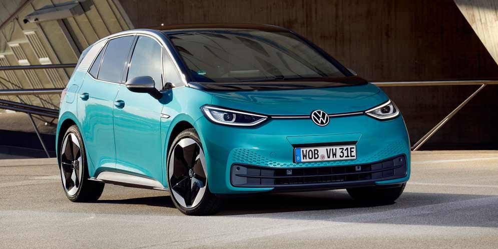 Volkswagen ID.3 — бестселлер №2 в Европе по итогам декабря