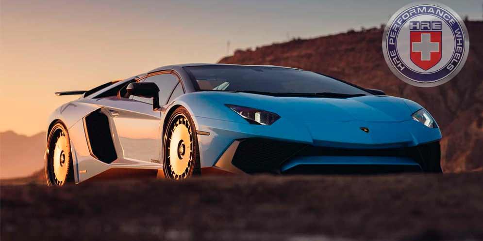 Lamborghini Aventador SV надел необычные колёса HRE | фото