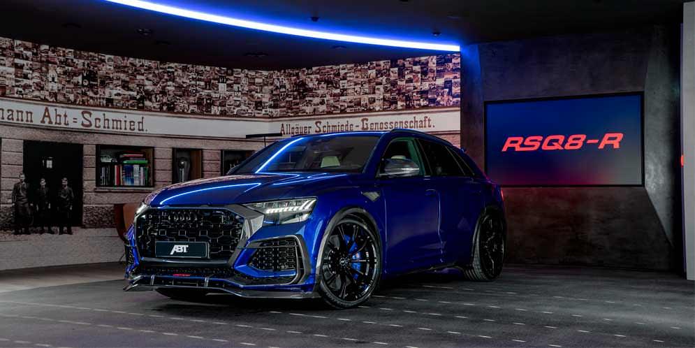Audi RSQ8-R. Зловещий тюнинг от ABT Sportsline | фото