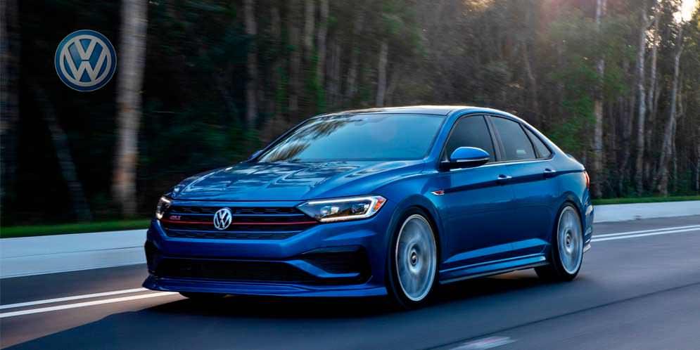 Новая Volkswagen Jetta GLI Blue Lagoon вышла как концепт | фото