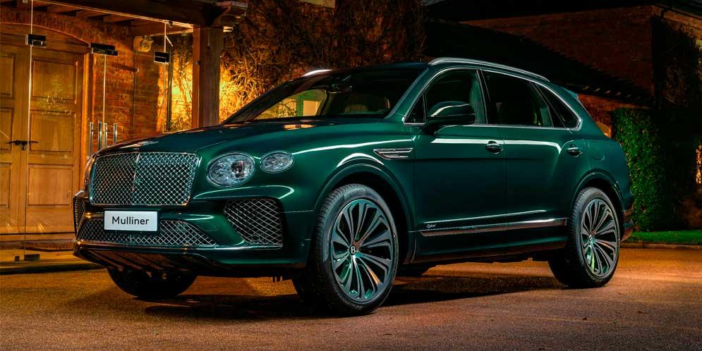 Mulliner доработал Bentley Bentayga для клиента из Китая