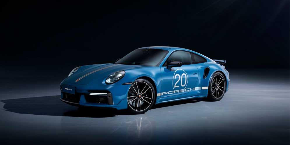 Porsche 911 Turbo S отметил 20-лет продаж в Китае спецверсией