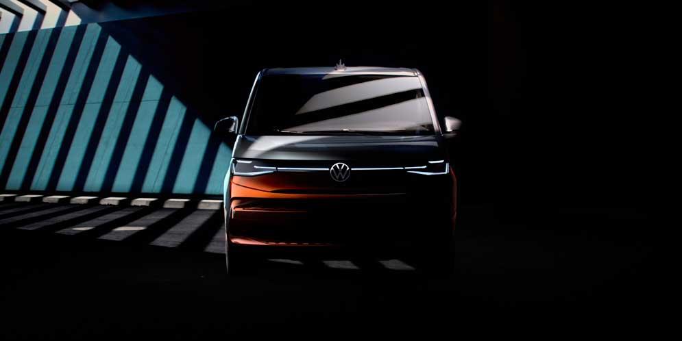 И снова здравствуй: Volkswagen Multivan T7 ещё раз на тизере