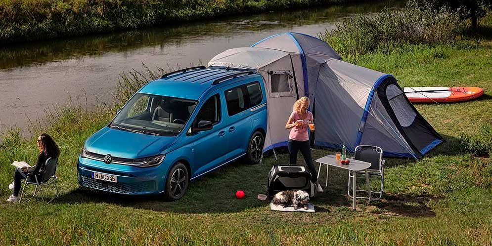 Маленький кемпер VW Caddy California стартует в продаже в Англии