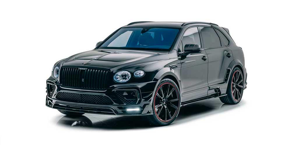 Новый Bentley Bentayga 2021 получил обширный тюнинг Mansory