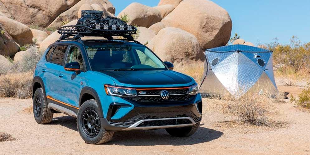 Новый Volkswagen Taos Basecamp подготовили к приключениям