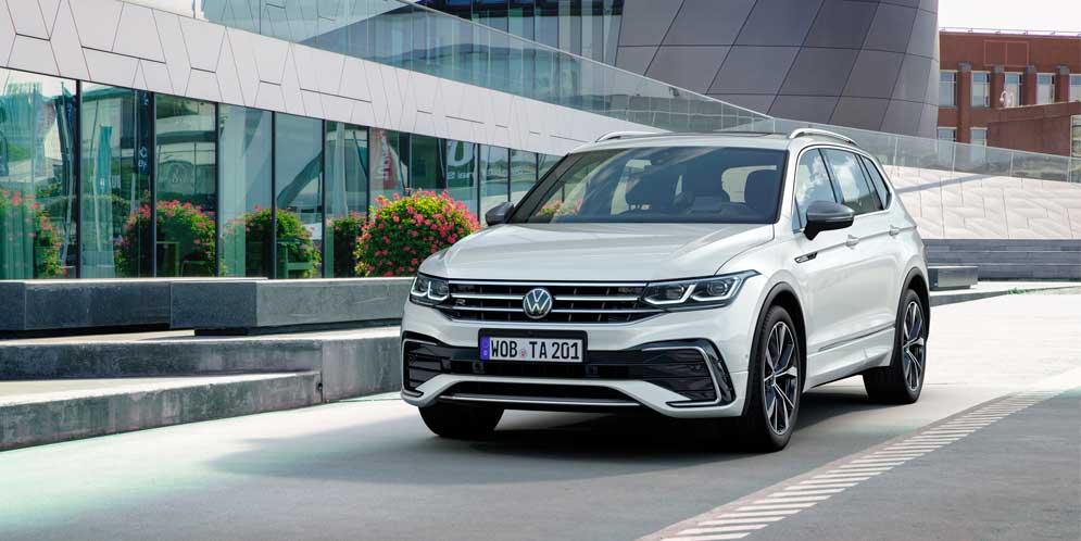 Удлинённый Volkswagen Tigual Allspace обновился на 2022 год