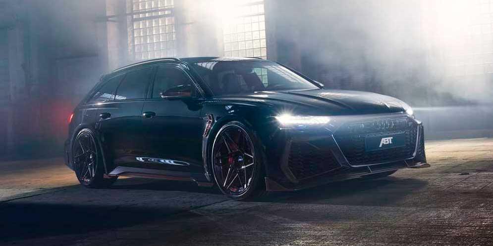 Новая Audi RS6 приоделась в ещё один тюнинг ABT Sportsline