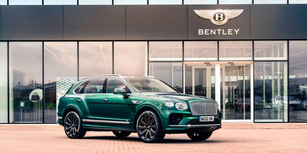 Bentley Bentayga получил самые большие карбоновые колёса