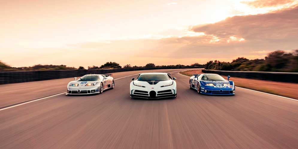 Bugatti Centodieci за $9,5 млн отправился на дорожные тесты