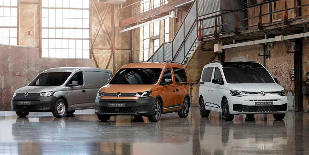 Показан новый VW Caddy PanAmericana для любителей приключений