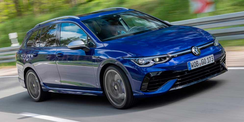 Вышел Volkswagen Golf R Variant восьмого поколения, став мощнее