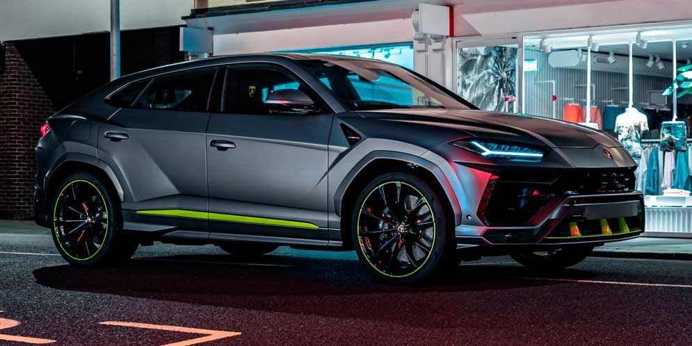 15 000-й Lamborghini Urus доставили покупателю в Лондон