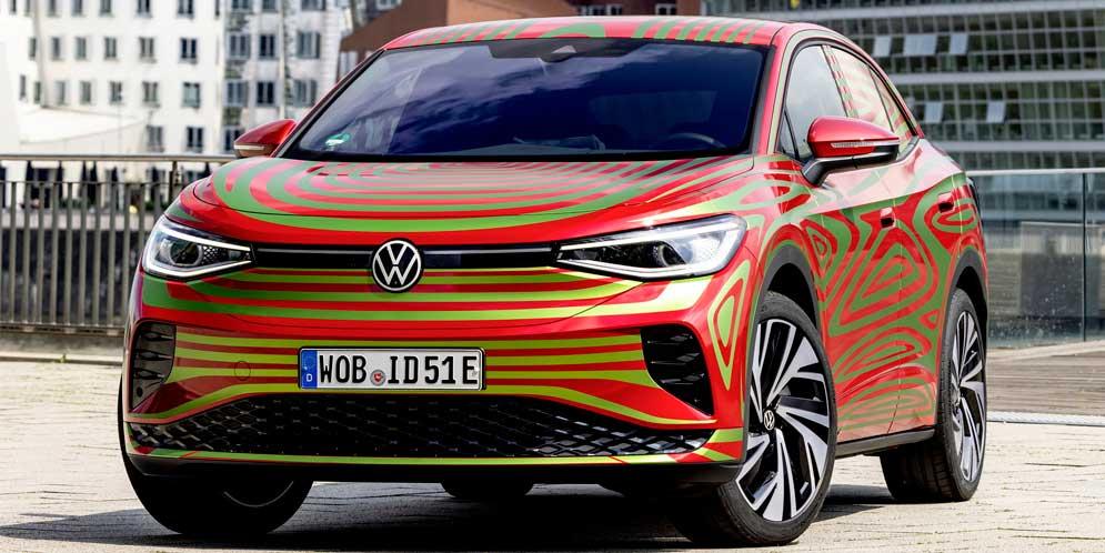Предсерийный VW ID.5 GTX представят на автошоу в Мюнхене
