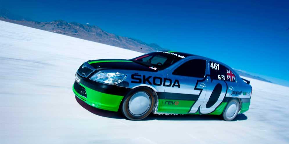 Самая быстрая Skoda Octavia vRS отметила 10-летие триумфа