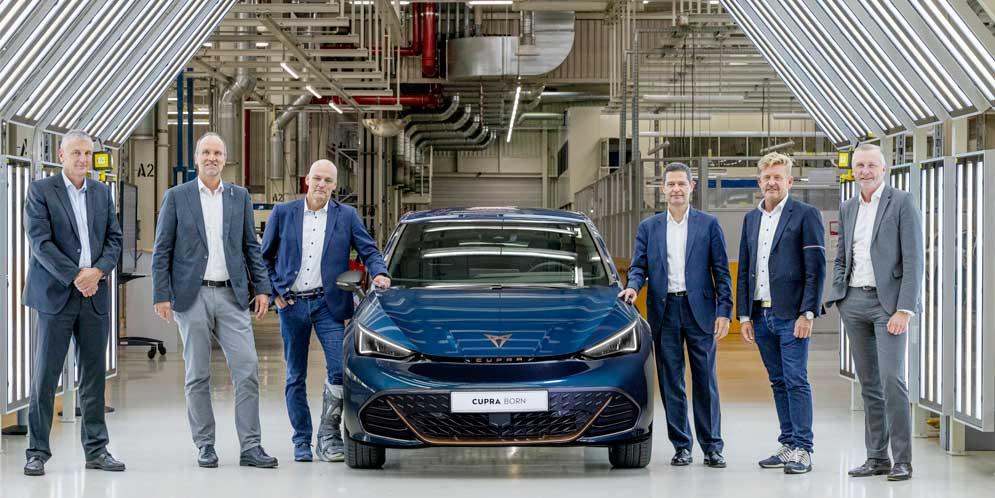 Производство Cupra Born начали в Германии рядом с VW ID.3
