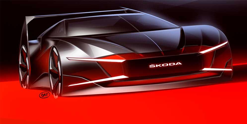 Skoda возродила спорткар Ferat из 80-х в новом концепте