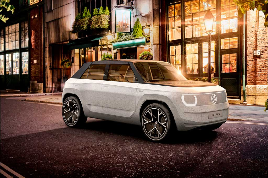 VW ID. Life показал каким будет маленький электромобиль за €20 к