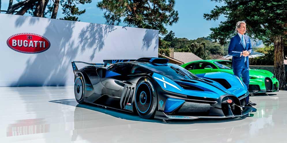 Bugatti Bolide признан как самый красивый гиперкар в мире